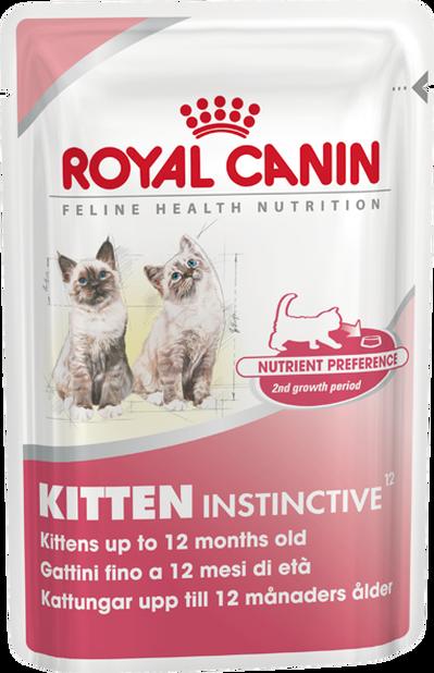 RC kitten instinctive 12*85g, 85 g, Flerfarget