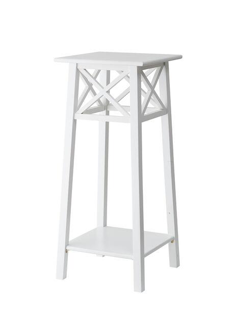 Pidestall Britta, Høyde 80 cm, Hvit