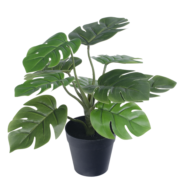 Grønn kunstig planteoppsats, Høyde 30 cm, Grønn
