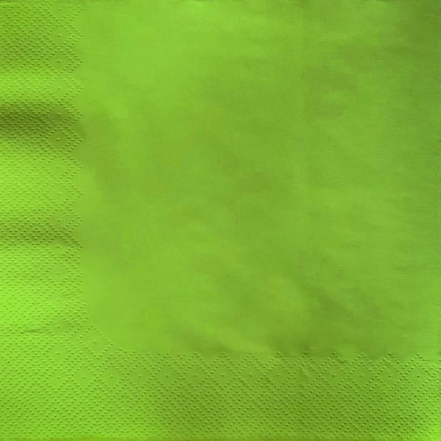 Servietter, Bredde 40 cm, Grønn