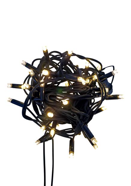 Lyslenke Alfred Add on 100 LED lys Svart | Plantasjen