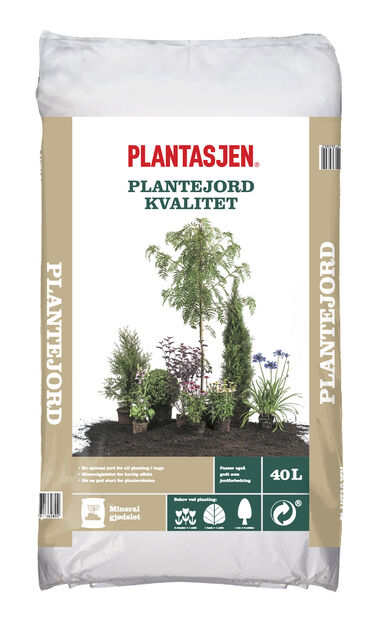 Plantejord Kvalitet, 40 L