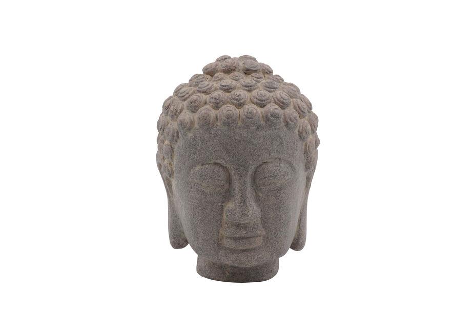 Buddhahode, Høyde 16 cm, Grå