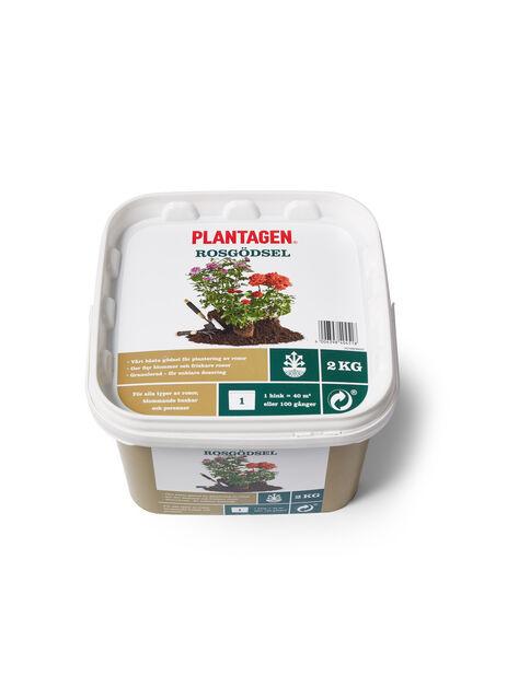 Plantagen Premium Rosegjødsel, 2 kg, Flerfarget