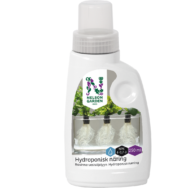Hydroponisk næring, 250 ml, Flerfarget