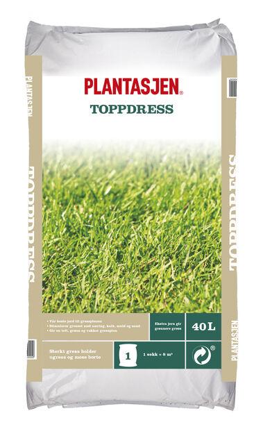 Plantasjen Toppdress , 40 L, Flere farger