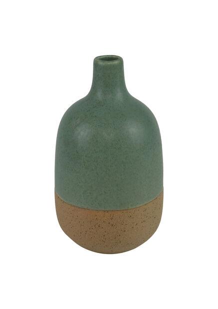 Vase Selma, Høyde 17 cm, Grønn