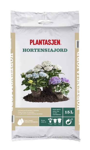 Jord Hortensia, 15 L, Flere farger