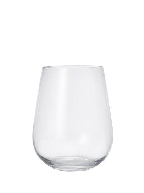 Vase Wilma, Høyde 23 cm, Transparent