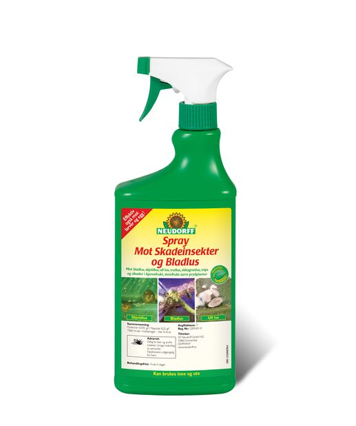 Spray mot skadeinsekter og bladlus, 750 ml