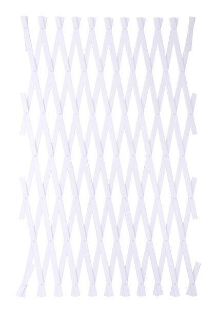 Espalier plast, Høyde 250 cm, Hvit