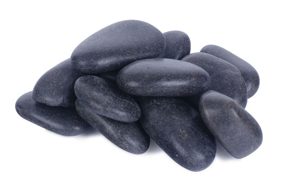 Dekorstein, 10 kg, Svart
