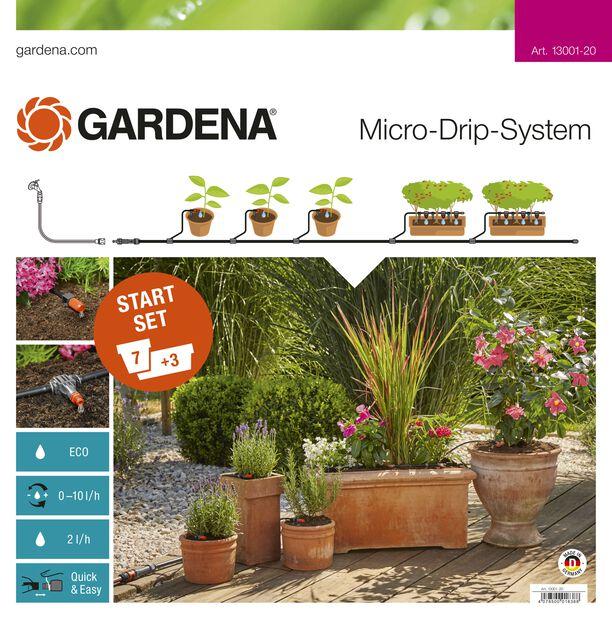 Startsett microdrip balkong/terrasse