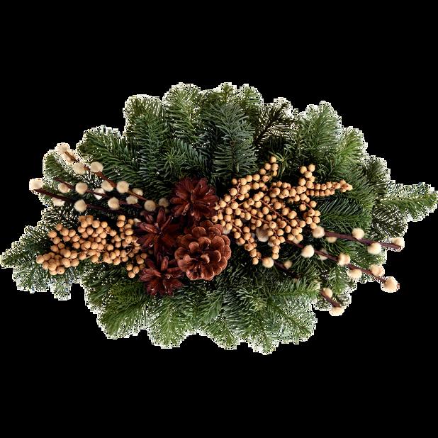 Graverosette, Høyde 25 cm, Flere farger