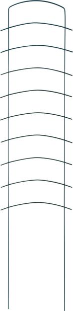 Espalier Ortus 118x27,5 cm