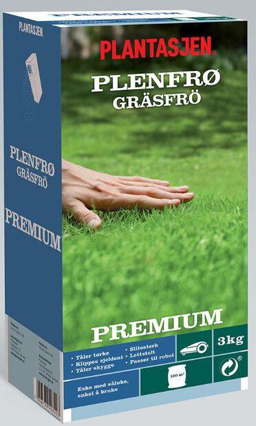 Gressfrø Premium, 3 kg