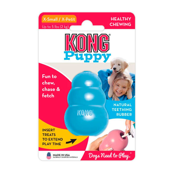 Kong Puppy, Blå