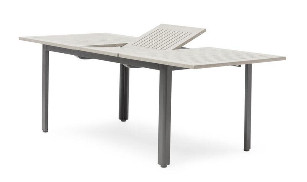Spisebord Lyon, Lengde 200 cm, Grå