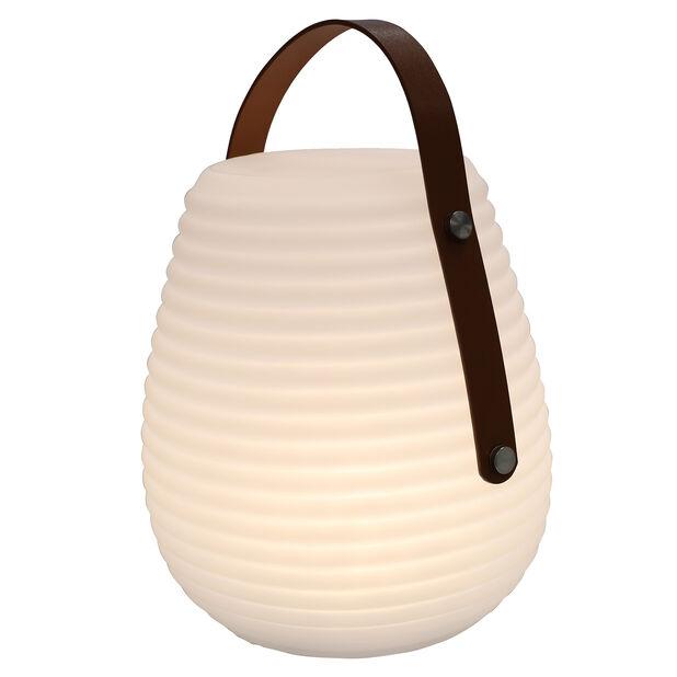 Altair utendørs bordlampe, Høyde 28 cm, Hvit