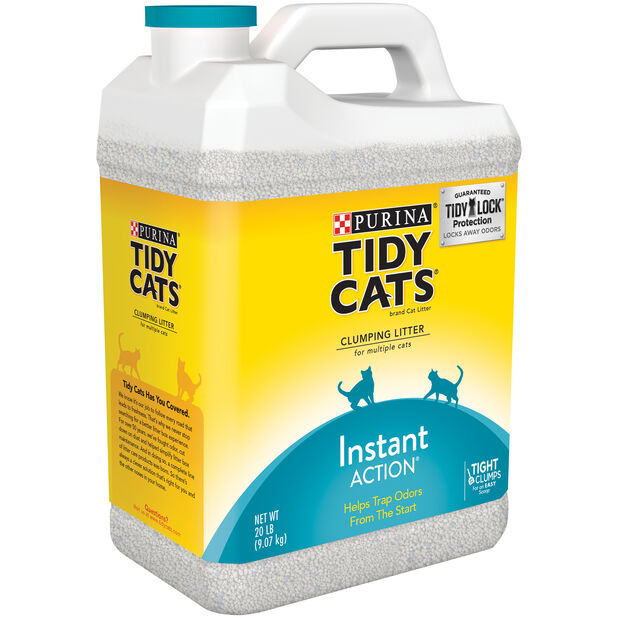 Tidy Cats Instant Action Cat-Litter, 9 kg, Flerfarget