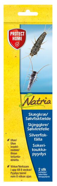 Natria sølvkrefelle, 2 pk, Flerfarget