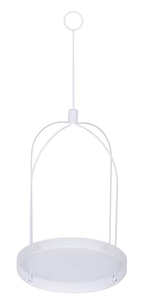 Grenna hengende brett, Høyde 79 cm, Hvit
