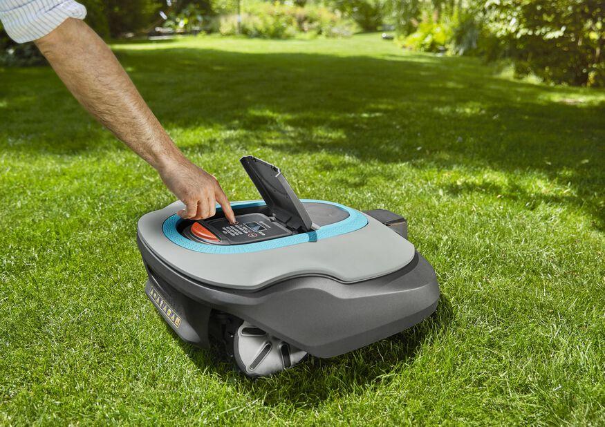 Robotgressklipper SILENO+ 2000 smart Gardena