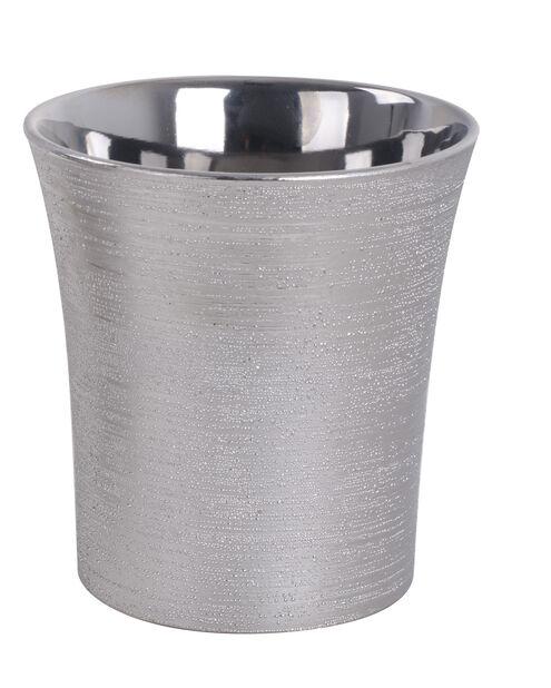 Potte Agda D 16 cm sølv