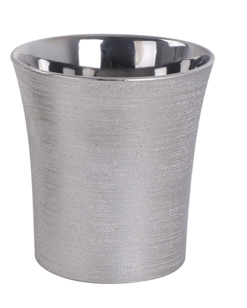 Potte Agda, Ø16 cm, Sølv