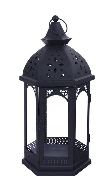 Lanterne Ludvig sort h 32cm