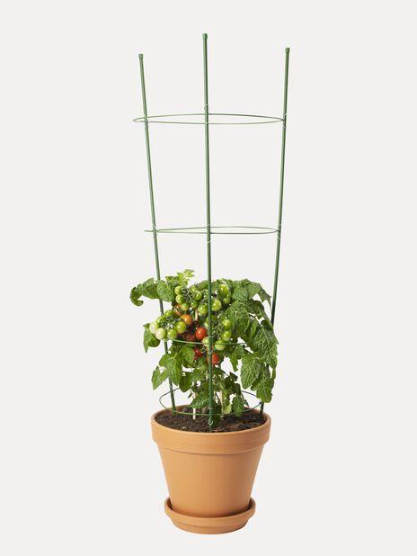 Sammenleggbar plantestøtte , Høyde 90 cm, Grønn