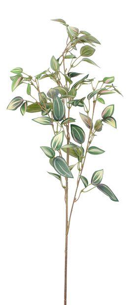Zebrina kunstig kvist, Høyde 76 cm, Grønn