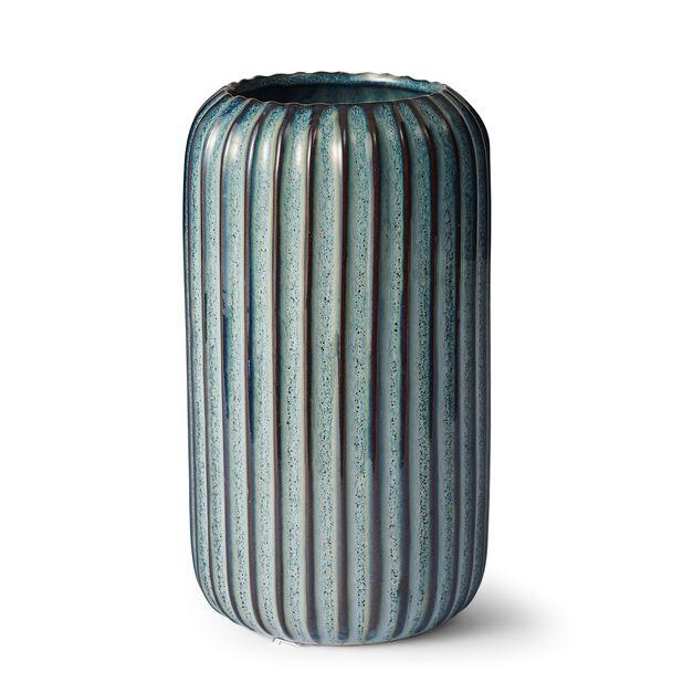 Vase Leya, Høyde 19 cm, Blå