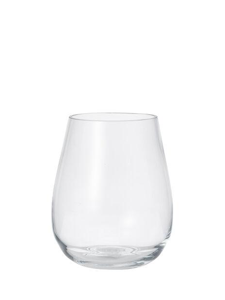 Vase Wilma, Høyde 19 cm, Transparent