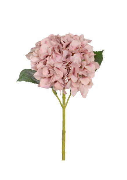 Hortensia kunstig, Lengde 67 cm, Rosa