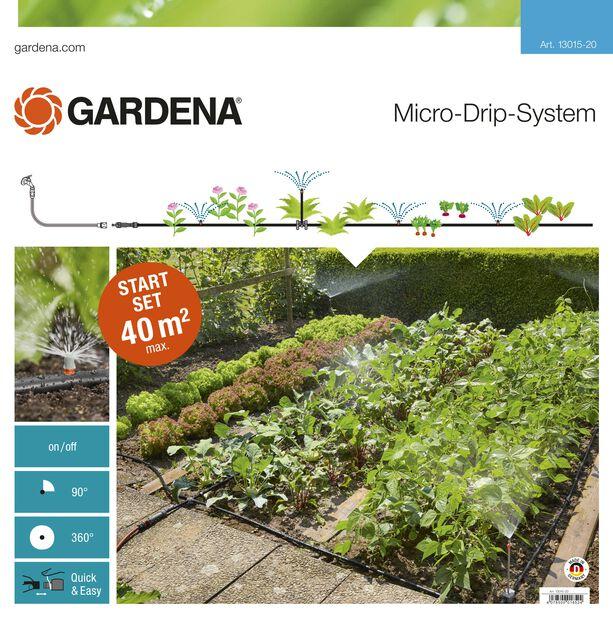 Gardena Startsett for blomsterbed Micro-Drip system
