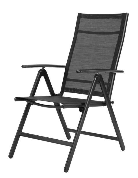 Stol Blackstone, Høyde 102 cm, Svart