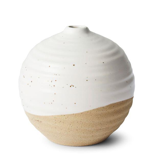 Vase Tove, Høyde 12 cm, Hvit