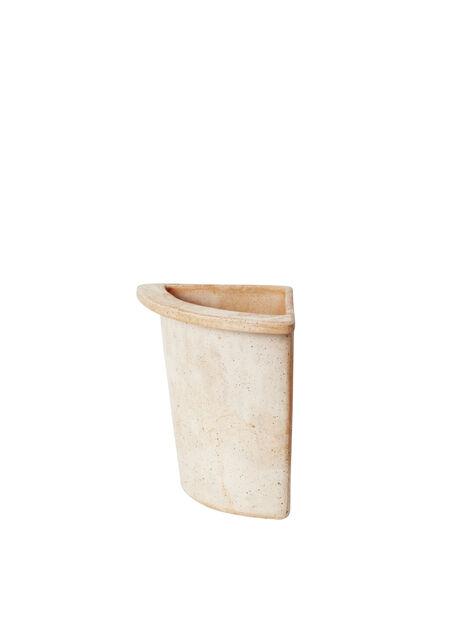 Kvartpotte Olea, Høyde 25 cm, Terrakotta