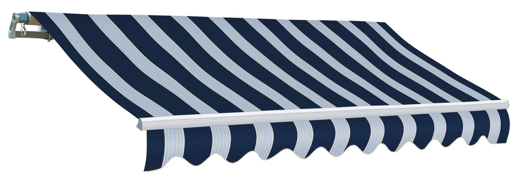 Markise Matilda, Bredde 3.6 m, Marineblå