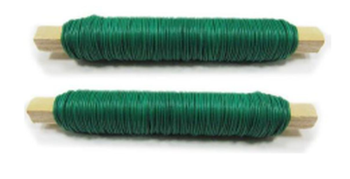 Ståltråd, 2 pk, Grønn