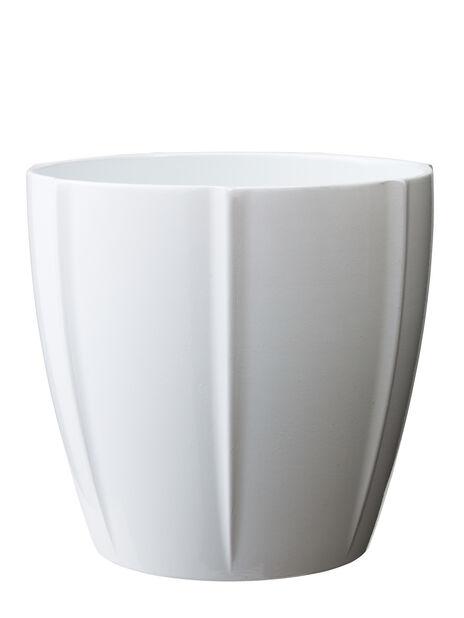 Justin Pot D 25 X H 24 Cm, White
