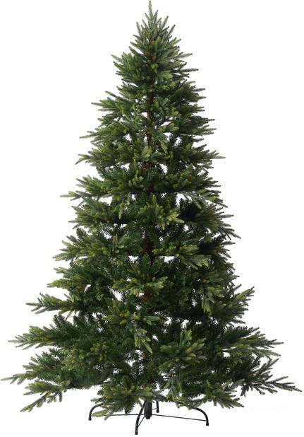 Kunstig juletre Uvdal, Høyde 210 cm, Grønn