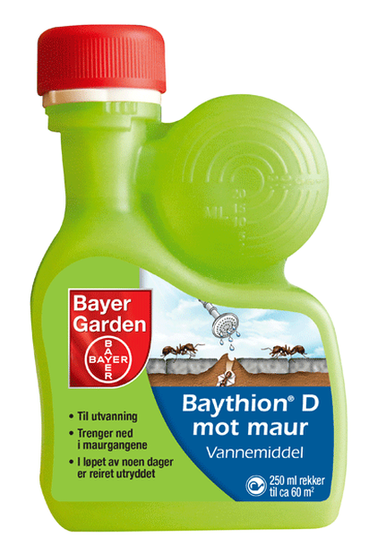Baythion D mot maur vannemiddel, 250 ml, Flerfarget