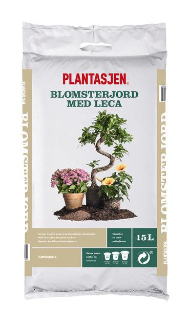 Plantasjen Blomsterjod med Leca 15 l