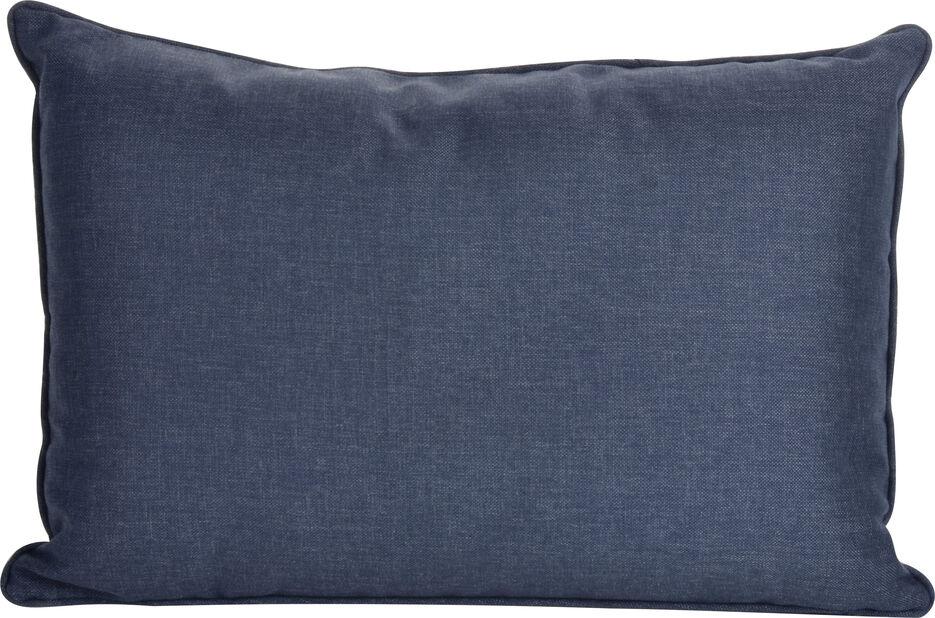 Pute Linwood  55x38cm, marineblå