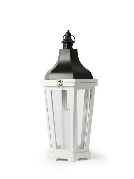 Lanterne Ida, Høyde 60 cm, Hvit