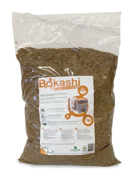 Bokashistrø , 2 kg, Brun
