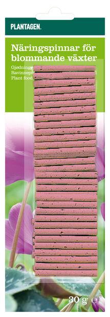 Gjødselpinner for blomstrende planter, 30 pk, Rød