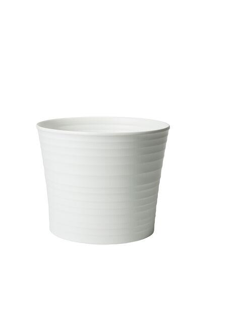 Minipotte Nellie D 8 cm hvit